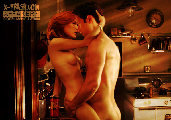Something's getting steamed up in Mulder's kitchen.